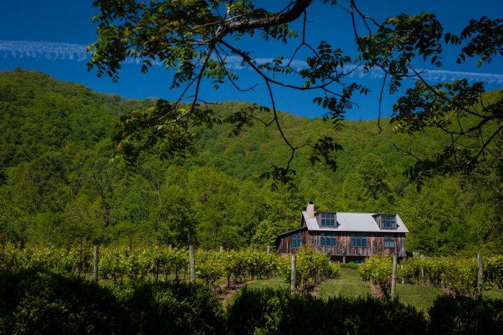 Dunkard Barn at Vineyards at Betty's Creek a beautiful mountain wedding venue