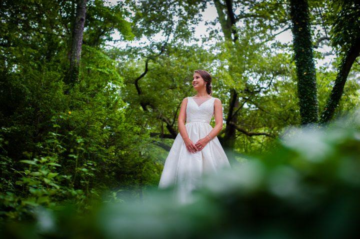 beautiful asheville bridal session at the biltmore estate