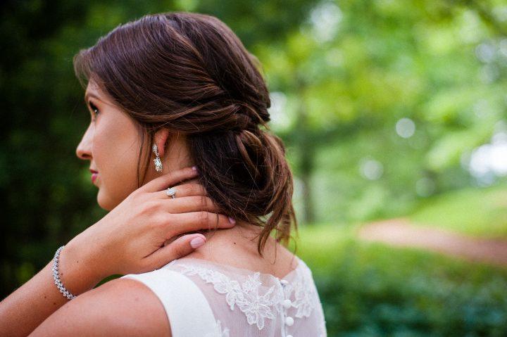 outdoor bridal session at biltmore