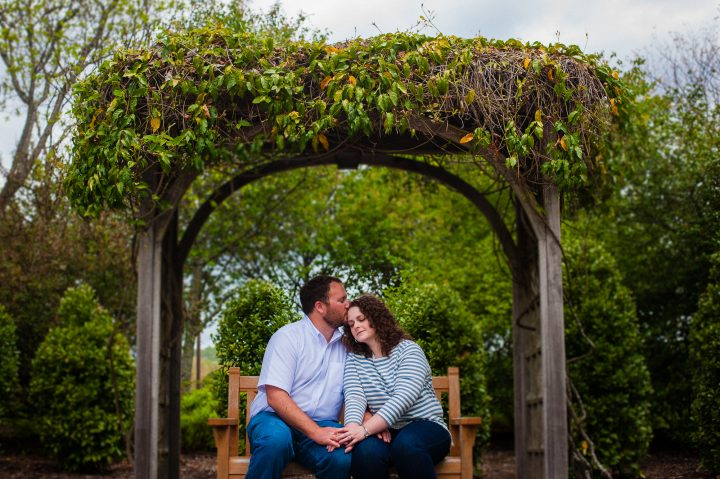 NC Arboretum Engagement Photo
