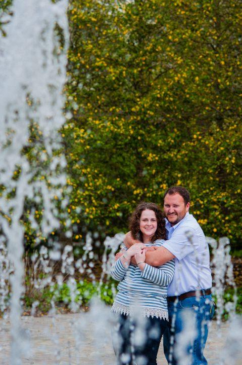 NC Arboretum Engagement Photo