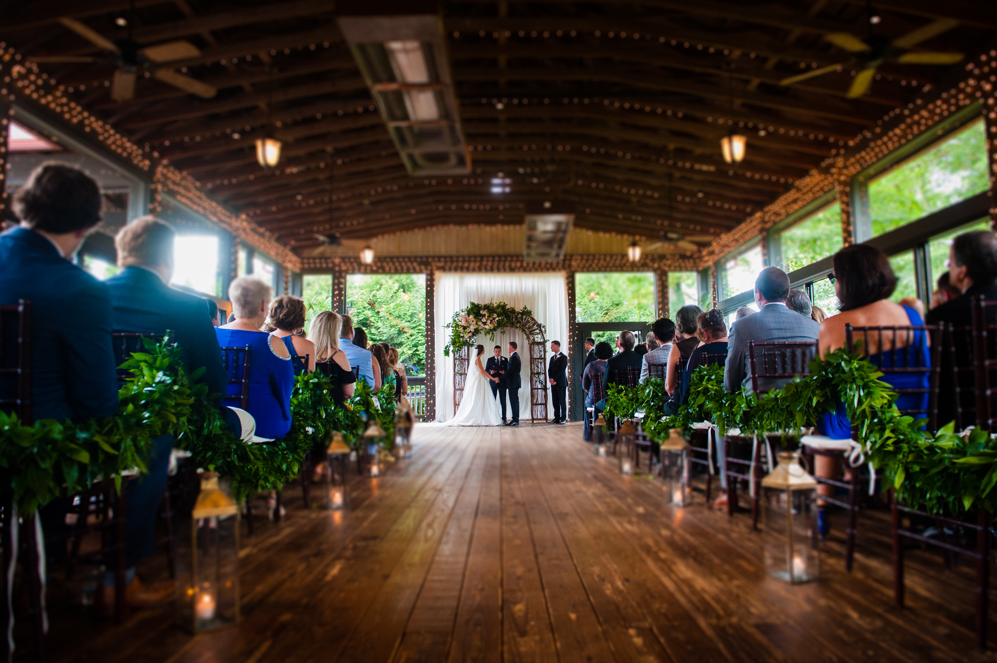 beautiful lioncrest at biltmore wedding ceremony