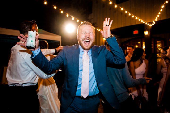 wedding guests rocking the dance floor