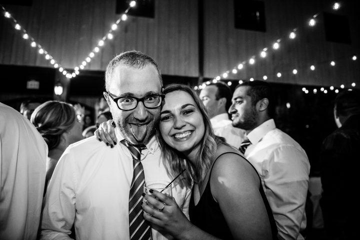 wedding guests at Lioncrest
