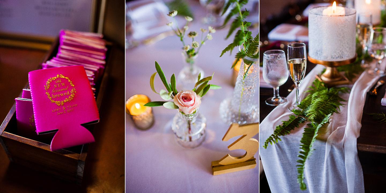 summertime wedding details