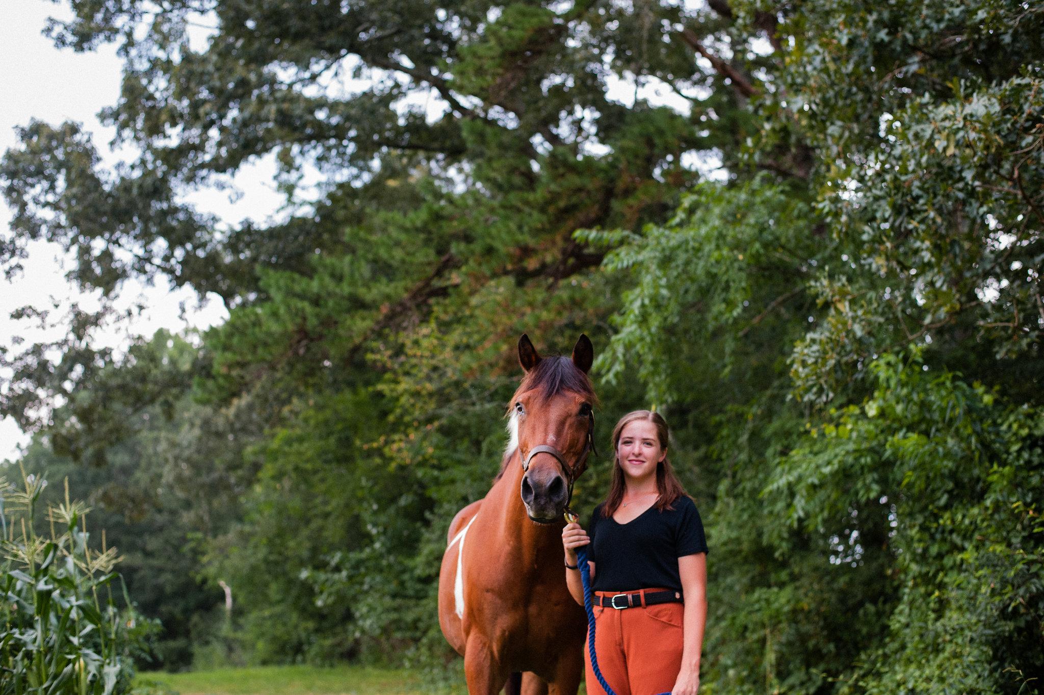 tryon equestrian portrait
