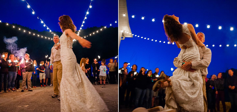 REEB Ranch Wedding in Brevard NC