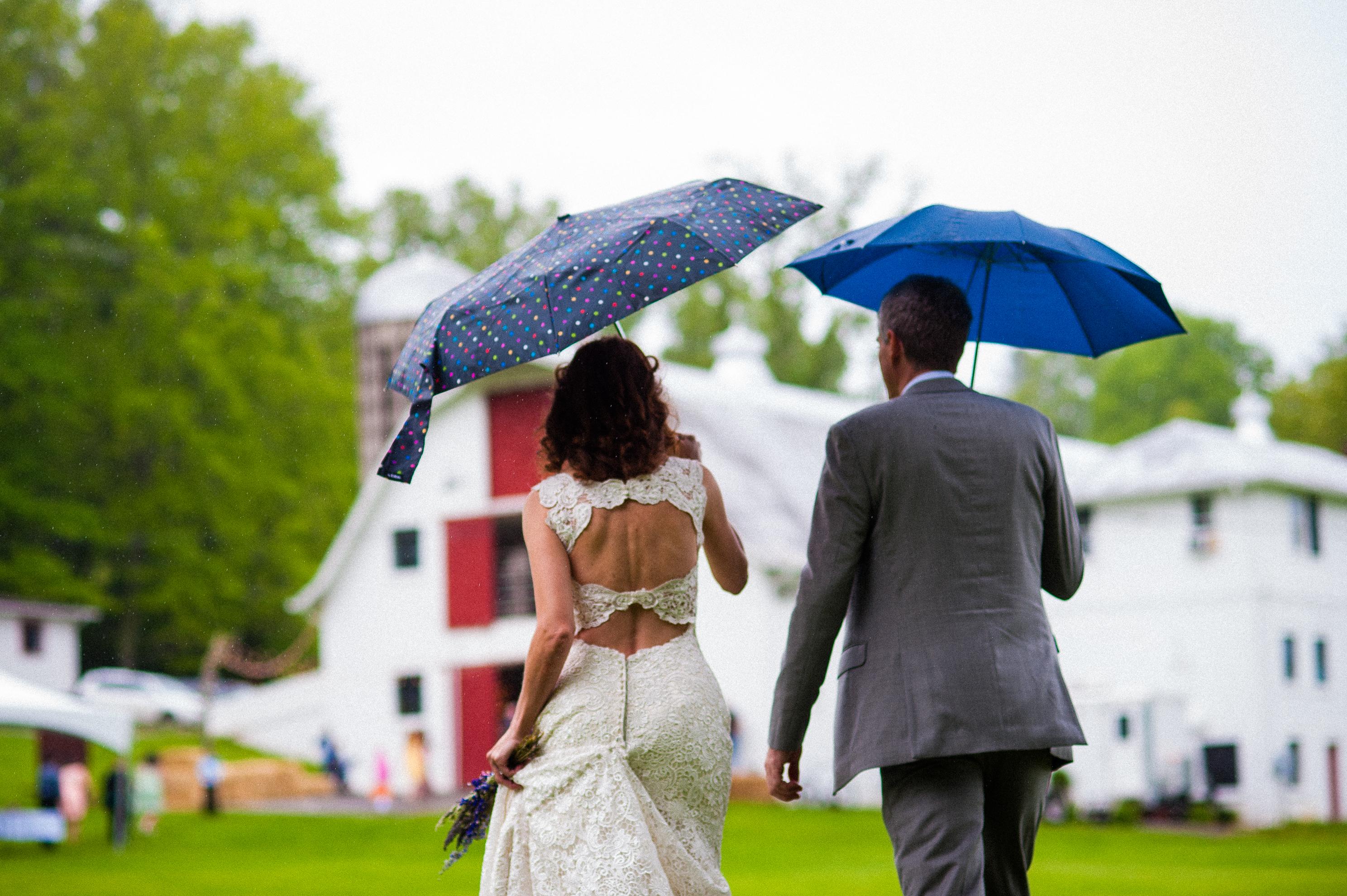 An outdoor wedding at Oskar Blues REEB Ranch