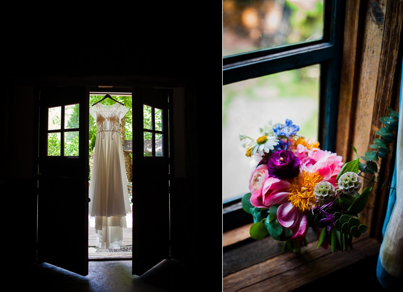 wedding details at Vineyards at Bettys Creek