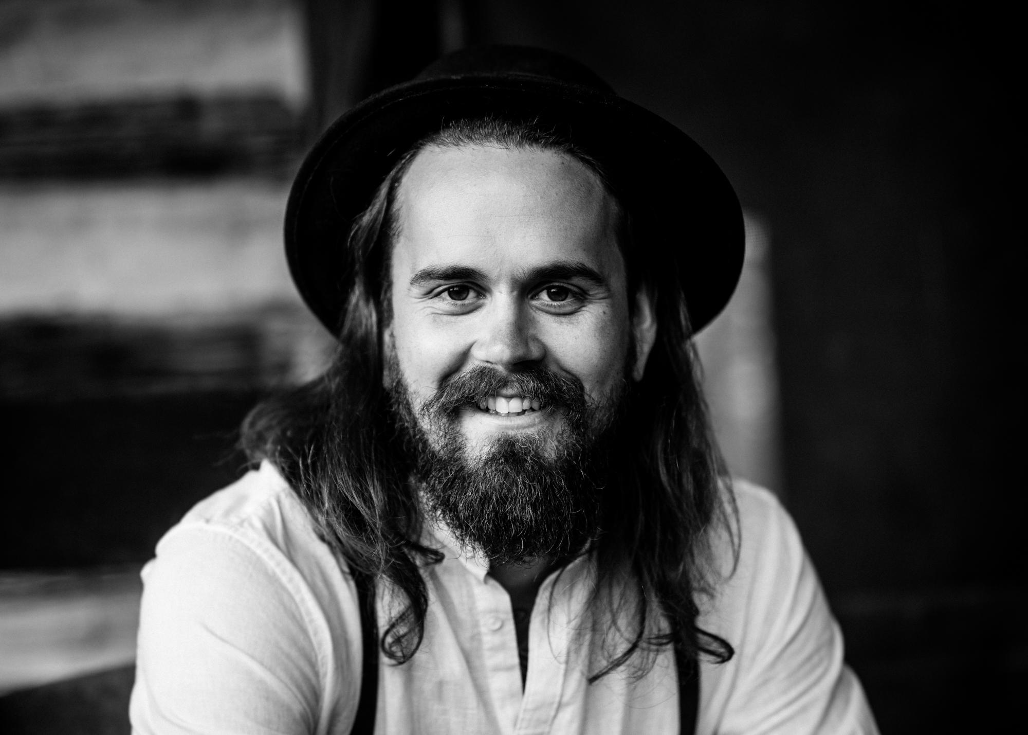editorial portrait of asheville musician