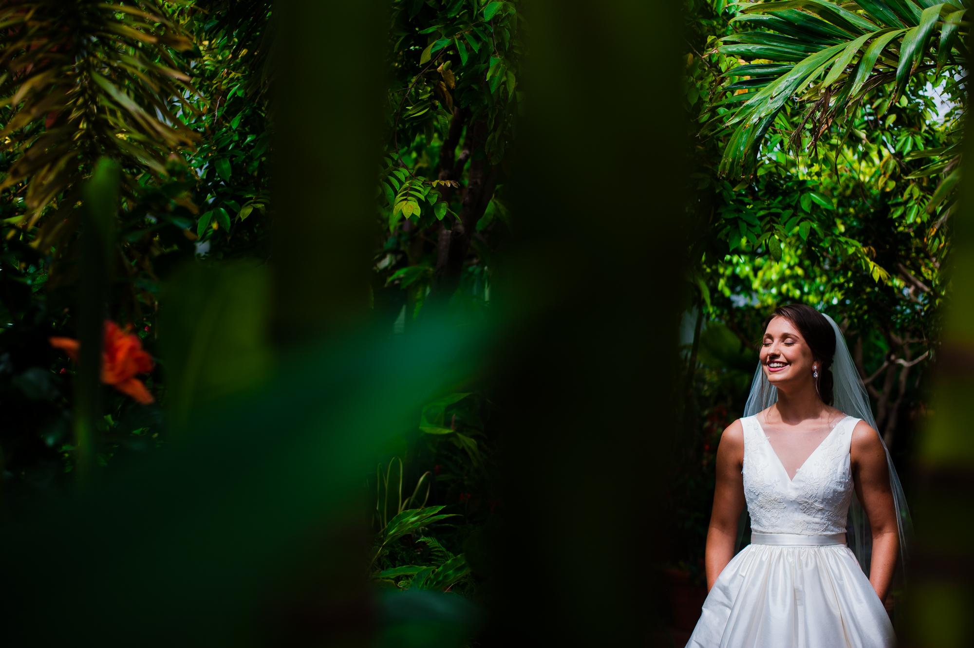 biltmore estate bride during her wedding