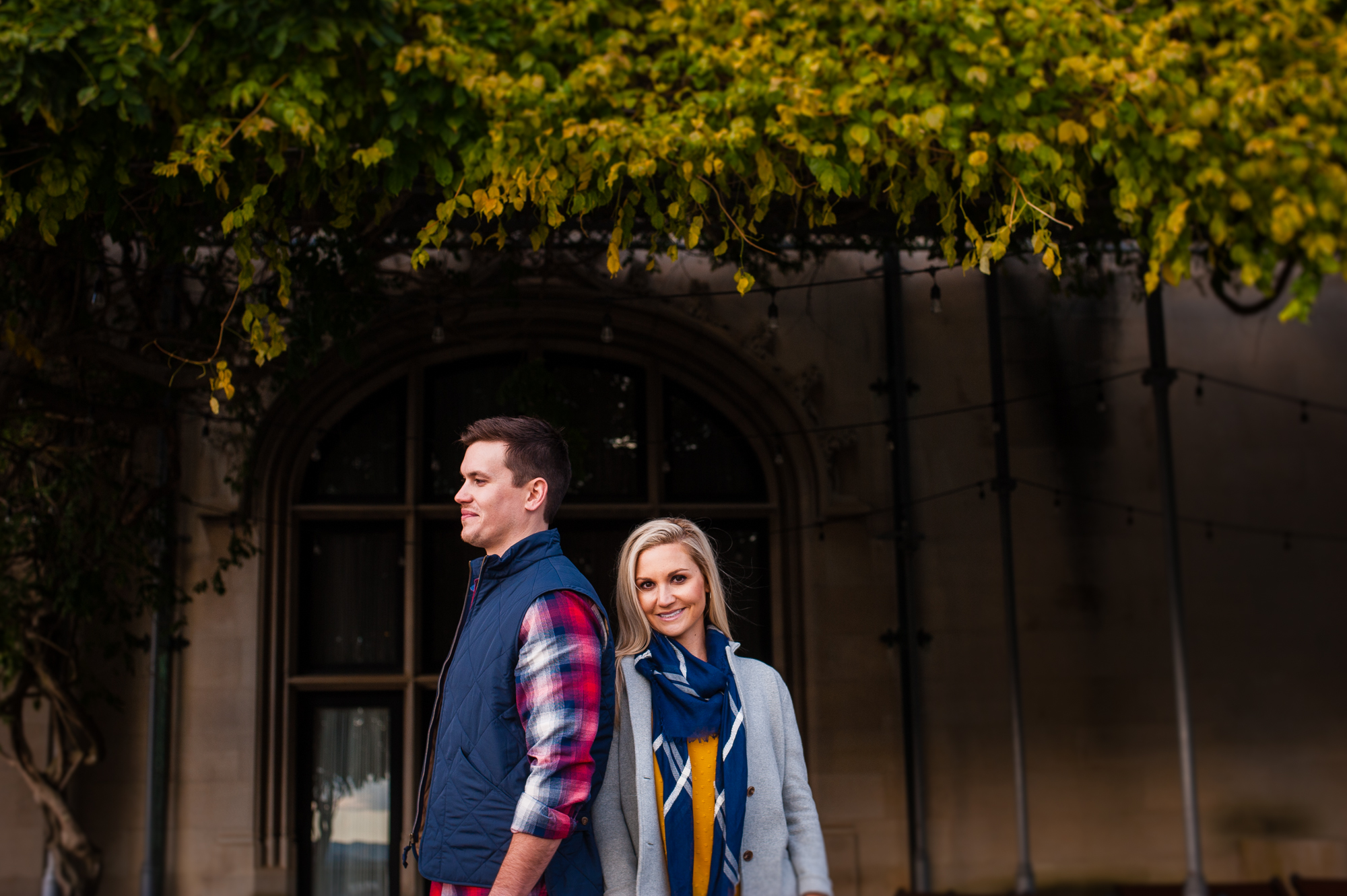 biltmore house engagement session