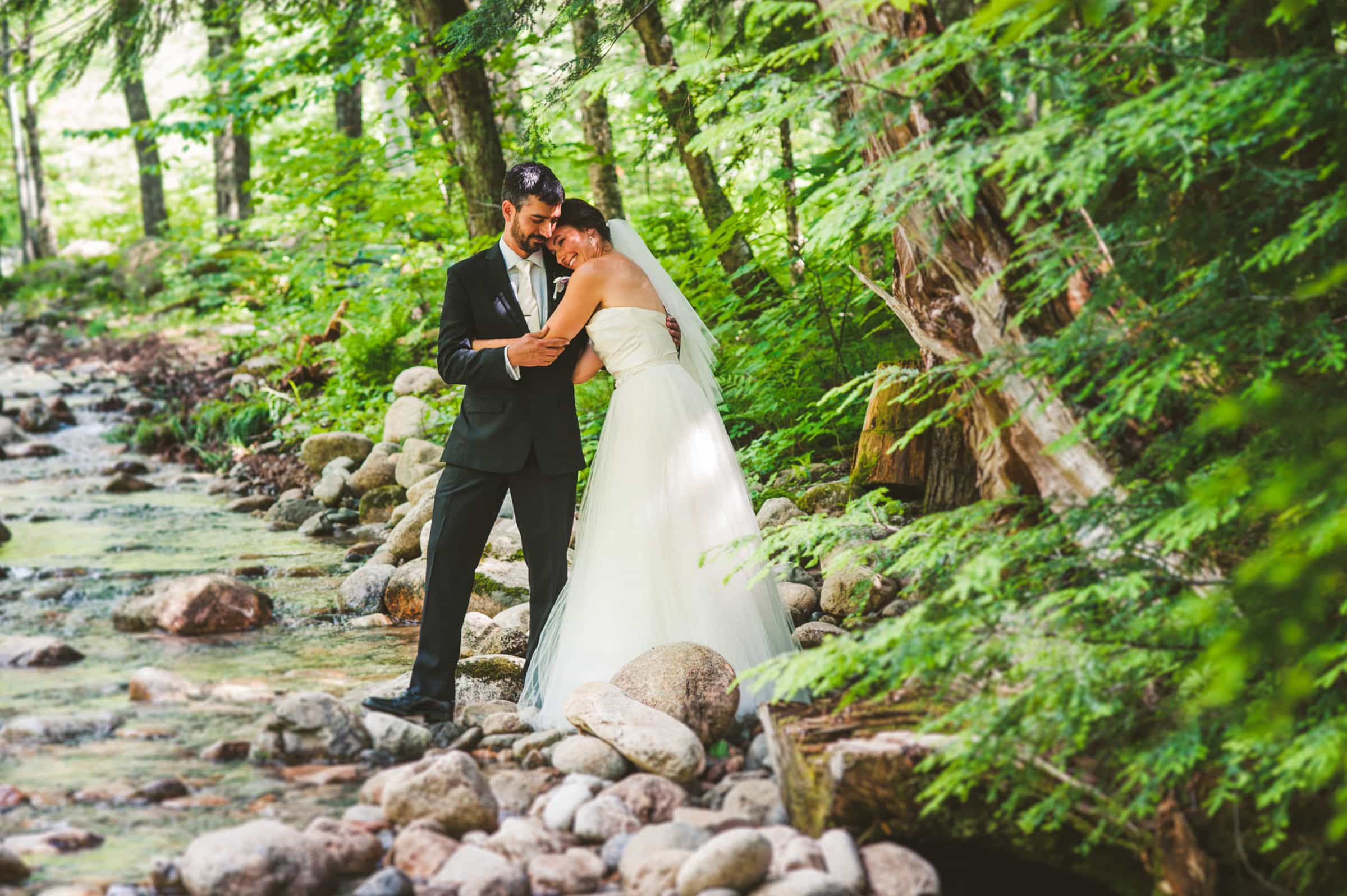New Hampshire elopement in the White Mountains