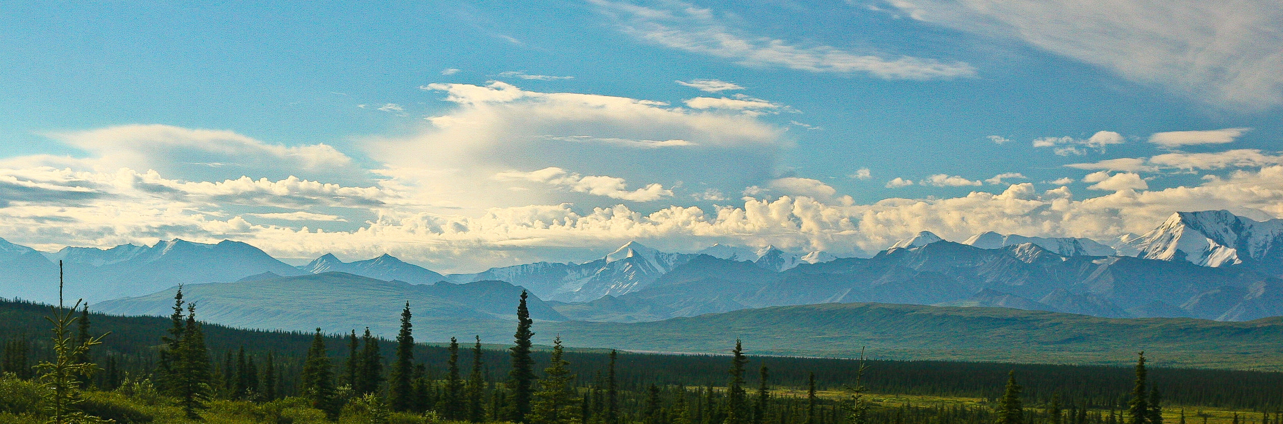 Elopement photographer backpacking in Denali National Park.