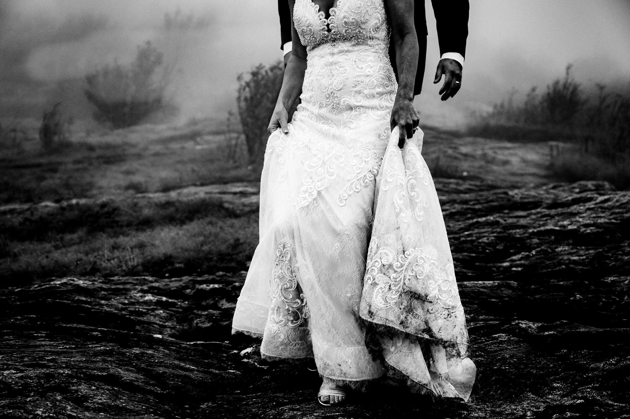 Black Balsam Knob Wedding by Adventure wedding photographer