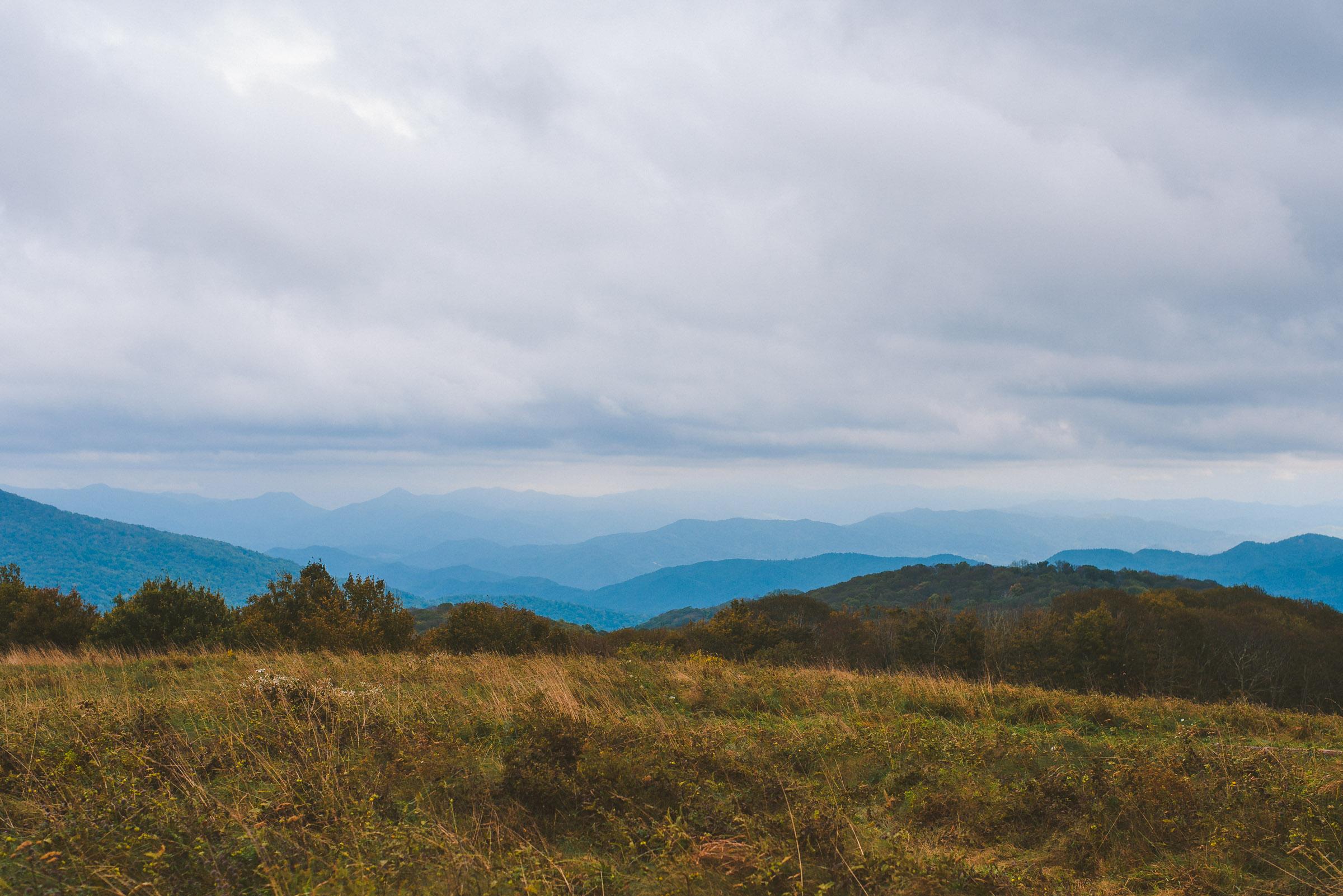 Max Patch Mountain landscape photo