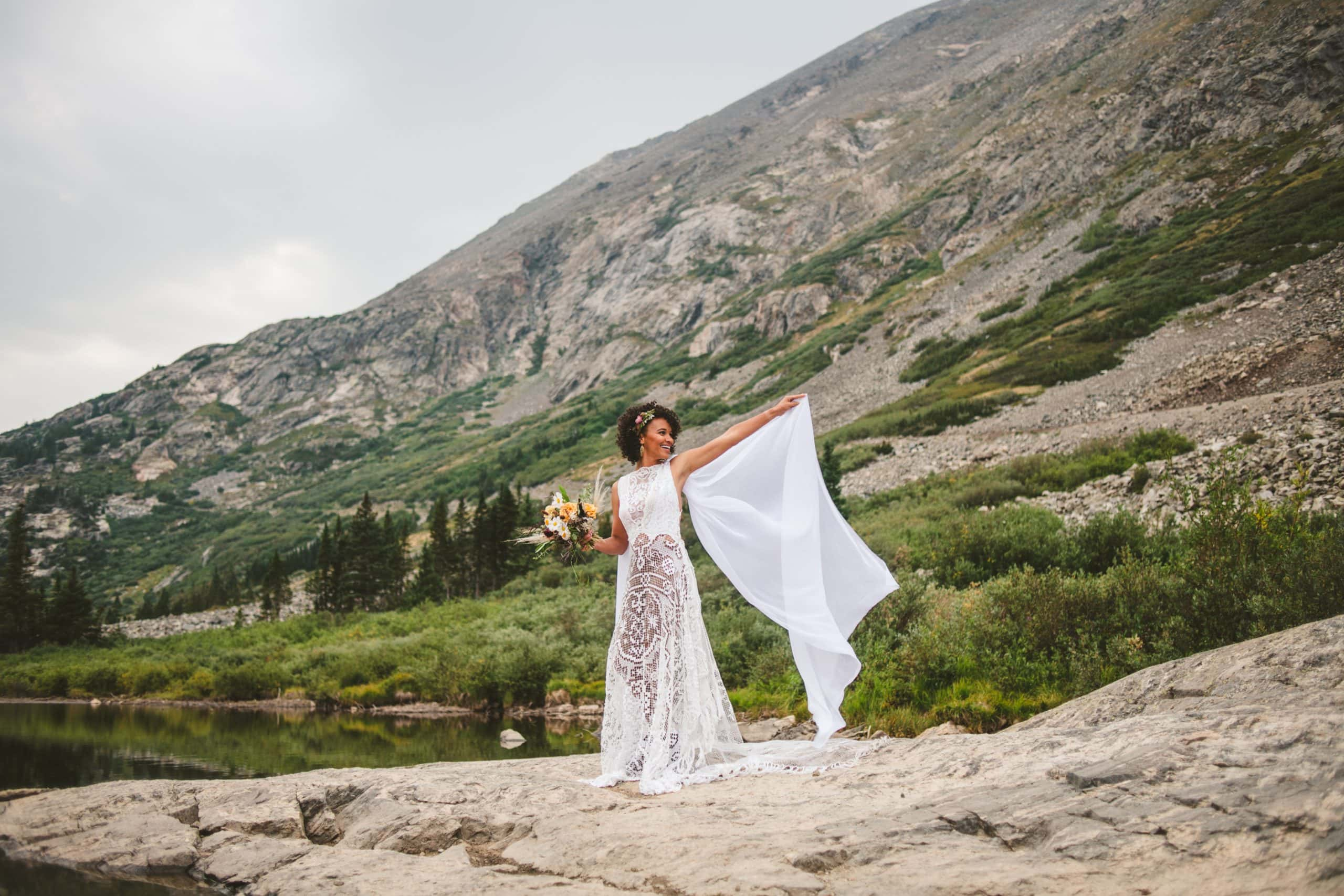 white mountains elopement