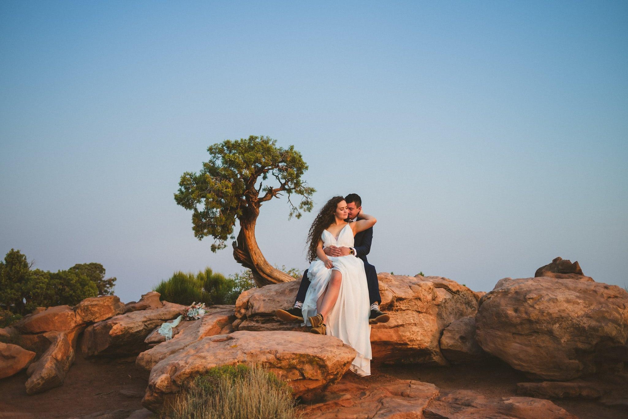 Dead Horse Point Wedding Photography