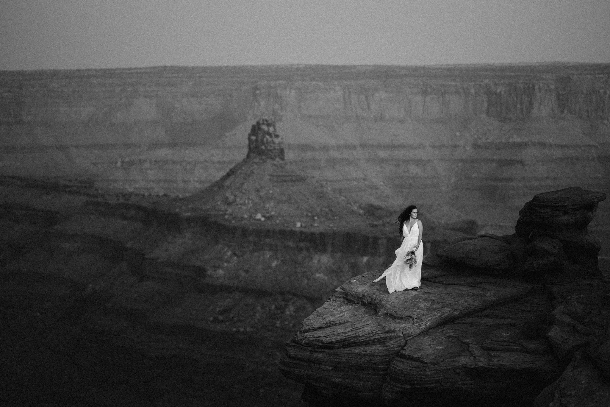 Moab Utah Elopement Location at Dead Horse Point